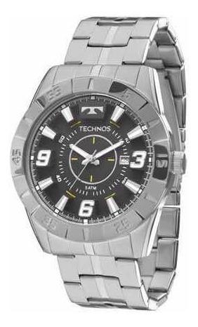 Relógio Technos Masculino Prateado 2115kyx/1p