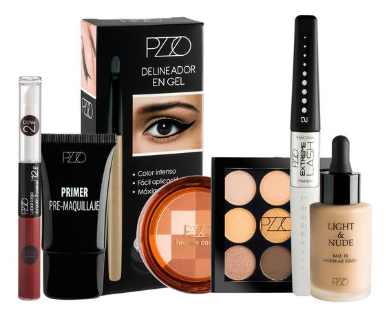 Maquillaje Completo Petrizzio Ojos Labios Y Rostro Pack