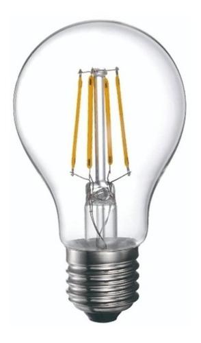Lampara Led Classic Filamento 8w Cálida Dimerizable Glowlux