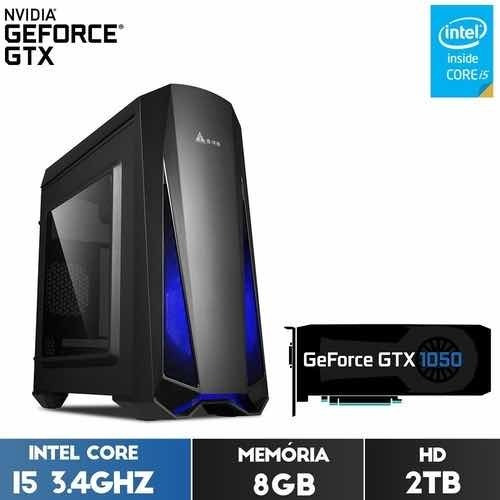 Pc Gamer I5 3.4 Gtx 1050ti 8gb 2gb ( Gta V, Fortnite, Csgo )