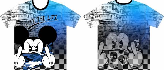Camisa/camiseta Mickey Mouse - Camisas Iradas - Sublimação