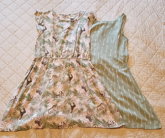 Vestidos Nena Forever 21 Talle 9/10 X2 Unidades