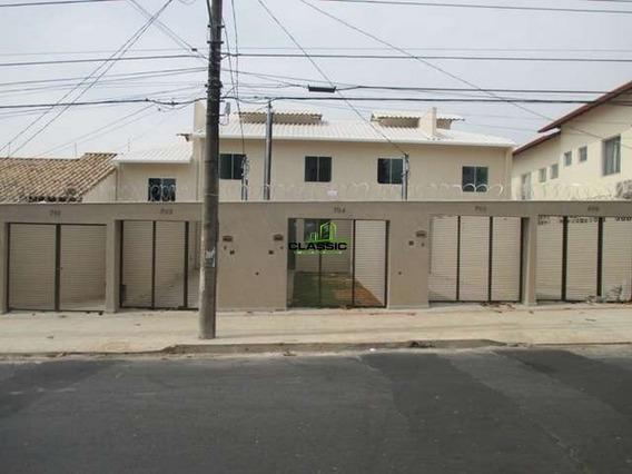 Casa Geminada Com 2 Quartos Para Comprar No Santa Branca Em Belo Horizonte/mg - 3084