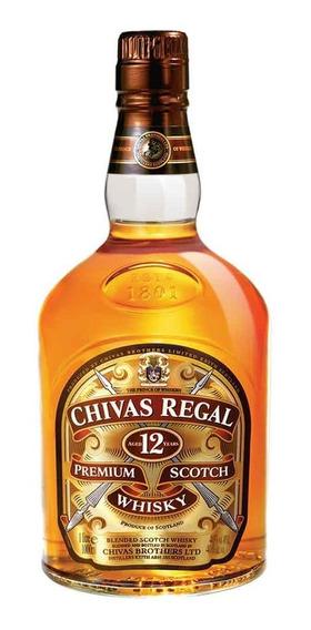Whisky Chivas Regal 12 Años De 750ml.