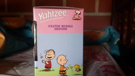 Juego De Dados Snoopy Huevo De Pascua Original Usa