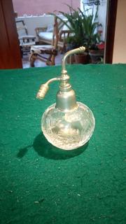 Perfumero Antiguo De Cristal