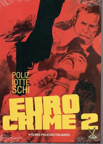 Dvd Eurocrime Volume 2 Com Cards - Versatil - Bonellihq L19