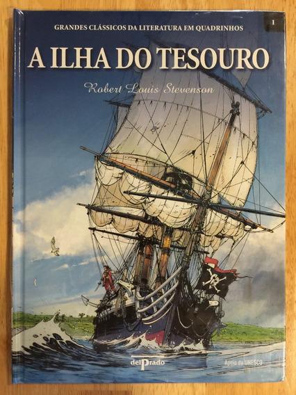 Hq A Ilha Do Tesouro - Clássicos Da Literatura Em Quadrinhos