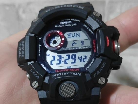 Relógio Casio G-shock Rangeman Gw-9400 1dr Triple Sensor