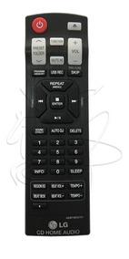 Controle Mini System Lg Cm9520 Original Novo