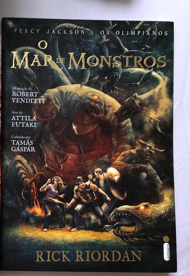 Livro O Mar De Monstros - Coleção Percy Jackson