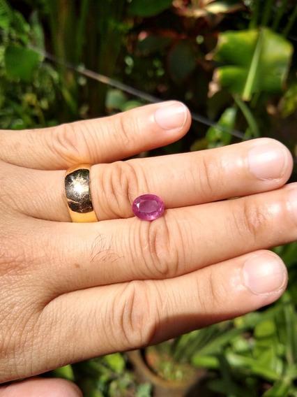 Rubi Rosa Natural 10x8 Frete Grátis 2,85 Cts