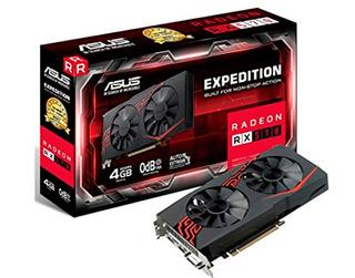 Tarjeta De Video Asus Amd Radeon Rx 570, 4gb Gddr5 256-bit