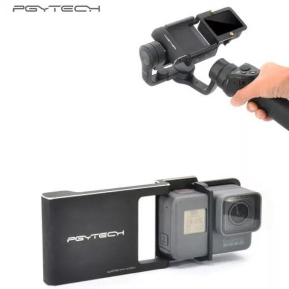 Suporte Dji Osmo Mobile - Adaptador Gopro 5 6 Pgytech Top
