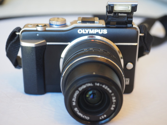 Camera Mirrorless M4/3 Olympus E-pl1 Com Lente 14-42mm