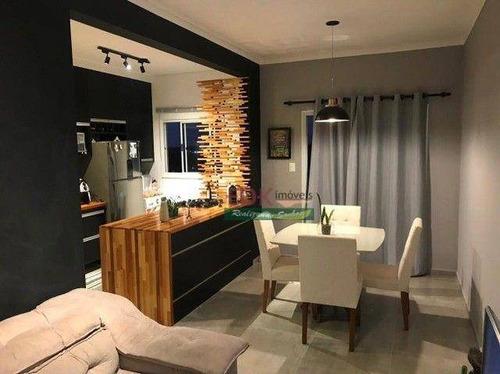 Imagem 1 de 12 de Apartamento Com 2 Dormitórios À Venda, 65 M² Por R$ 235.000,00 - Jardim Gurilândia - Taubaté/sp - Ap8663