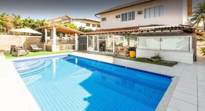 Casa Em Condomínio Para Venda No Barra Da Tijuca Em Rio De J - 001097