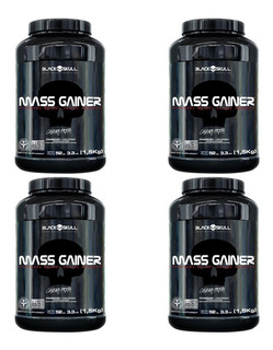 Kit 4 Mass Gainer 1,5kg - Massa Muscular/hipertrofia