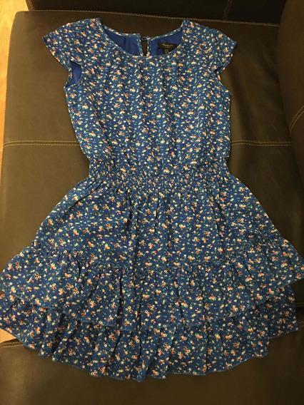 Vestido Importado De Nena Forever Xxi Talle M 10 Años