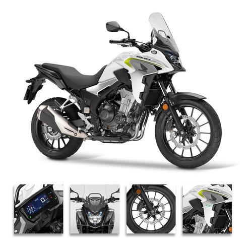 Moto Honda Cb 500 X 0km 2019 Blanca