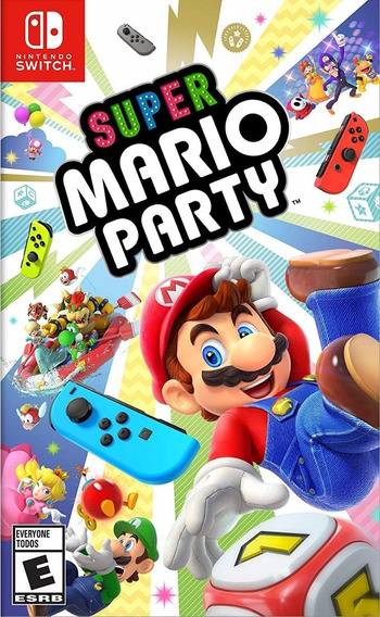 Mídia Física Super Mario Party Switch - Frete Grátis Todo Br