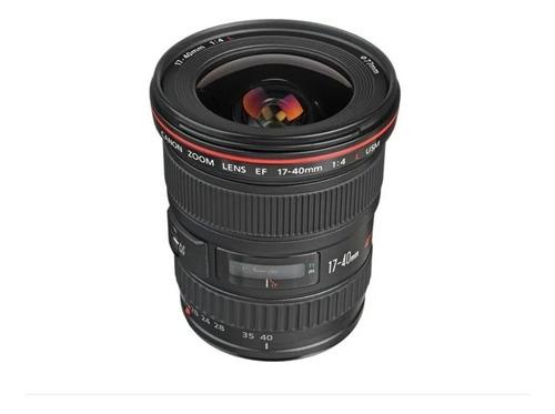 Lente Canon 17-40mm F4 Usm Lacrada