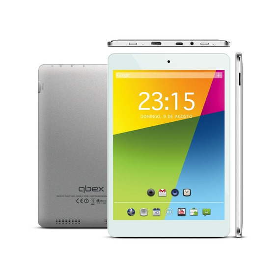 Tablet Qbex Tx240 7.85 8gb Dual Core A23 Cinza