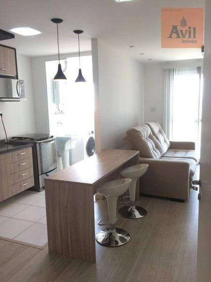 Studio Com 1 Dormitório À Venda, 35 M² Por R$ 400.000,00 - Tatuapé - São Paulo/sp - St0036