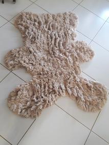 Tapete Felpudo Formato De Urso