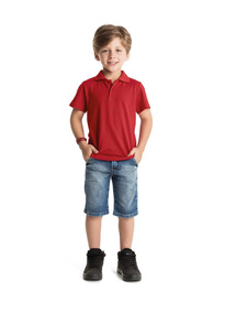 Camisa Polo Masculina Rovitex Premium - Cor Vermelho - 4017