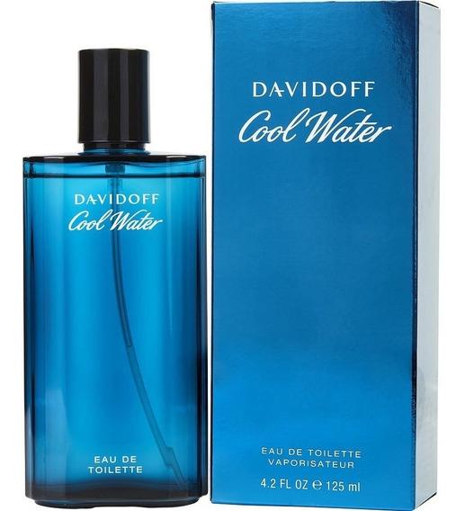 Perfume Cool Water Davidoff Edt 125ml Masculino - Lacrado