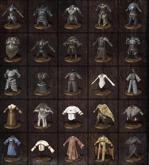 1 Set Armadura Dark Souls 3 (escolha Qualquer Set) - Ps4