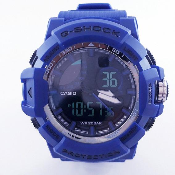 Relógio Masculino Azul Barato Promoção Imperdível