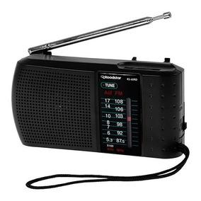 Mini Rádio Portátil A Pilhas Am/fm De Bolso Similar Ao Sony