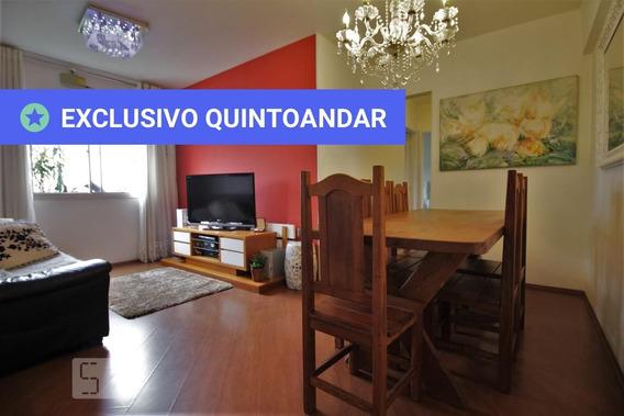 Apartamento No 2º Andar Com 2 Dormitórios E 2 Garagens - Id: 892973813 - 273813
