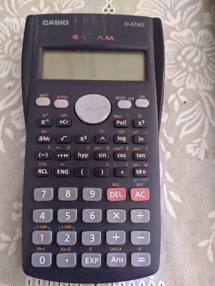 Calculadora Casio Fx 82 Ms Científica Engenharia Matemática