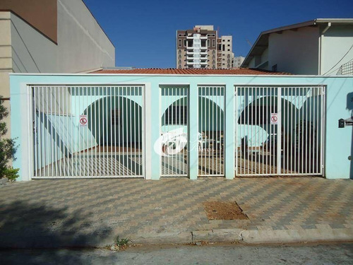 Casa Residencial À Venda, Vila Todos Os Santos, Indaiatuba. - Ca1986