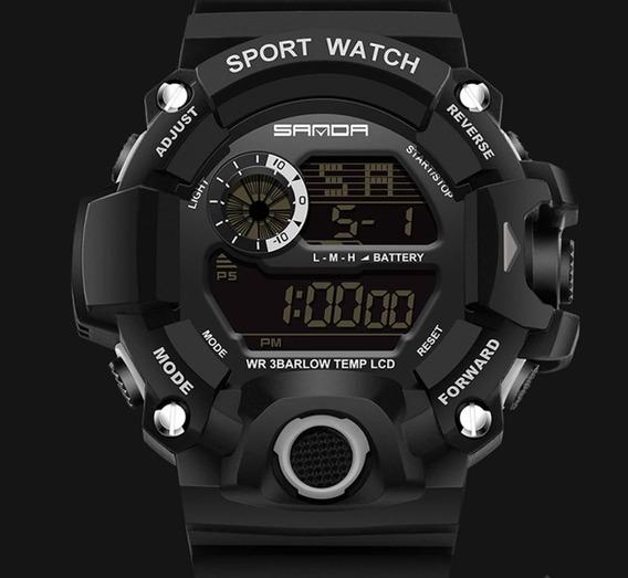 Relógio Masculino Militar S-schok Sanda 326 Original