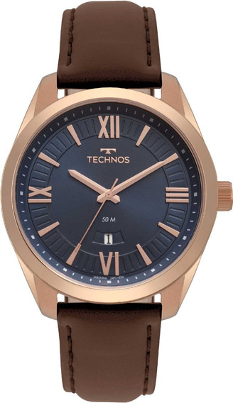 Relógio Technos Masculino Steel 2115mso/2a Com Garantia Nfe