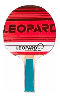 Paleta De Ping Pong Tenis De Mesa Eco Leopard