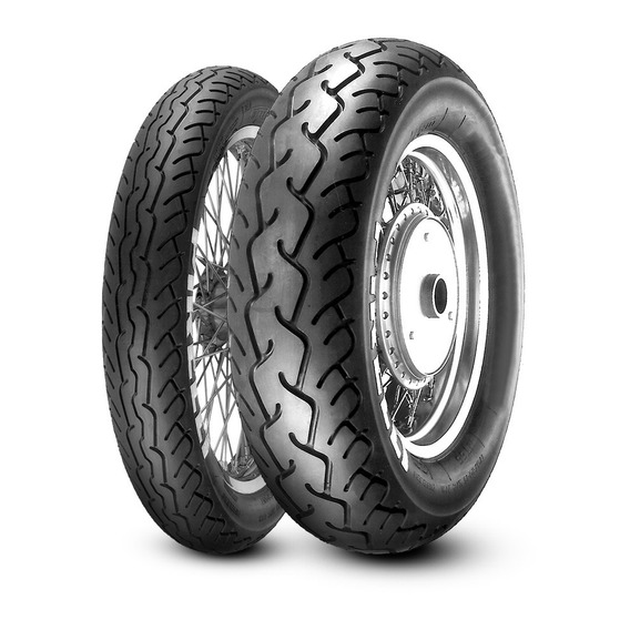 Pneu Pirelli Mt66 Route 170/80-15+100/90-19 Par Shadow600
