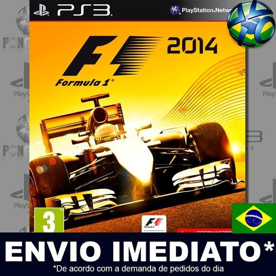 F1 2014 Ps3 Psn Dublado Português Pt Br Jogo Promoção Play 3
