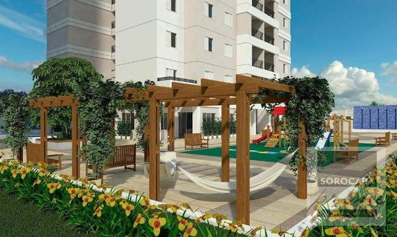 Oportunidade Apartamento Com 3 Dormitórios À Venda, 95 M² Por R$ 465.500 - Condominio Residencial Montpellier - Sorocaba/sp, Valor Promocional. - Ap0201