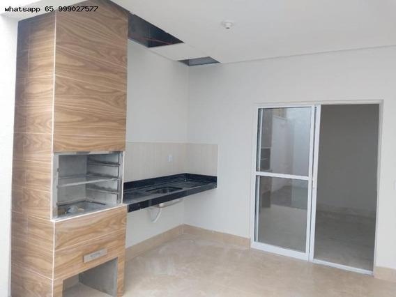 Casa Para Venda Em Cuiabá, Santa Cruz 2, 3 Dormitórios - 214_1-1307088