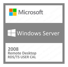 5 Cal Acesso Remoto Rds/ts Windows Server 2008 R2 User/devic