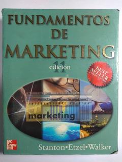 Fundamentos De Marketing 11a E , William J. Stanton ...