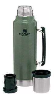Termo Stanley Classic Bottle Con Manija 1 Litro Acero Inoxidable Original
