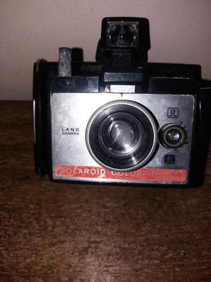 Máquina Fotográfica Polaroid Modelo Raro Funcionando