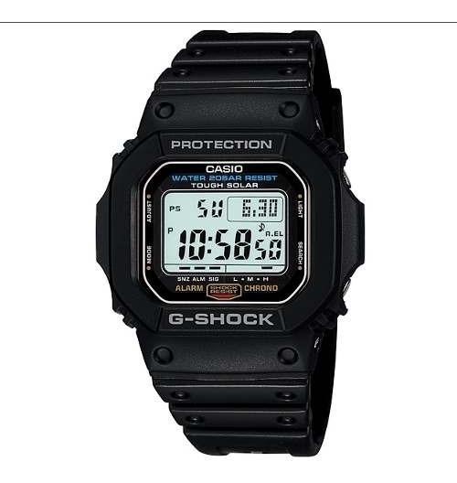 Relogio Casio G Shock G 5600e-1dr Touch Solar Dw-5600e-1