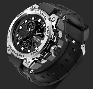 Reloj Tactico Militar Sanda Antishock Nuevo Modelo